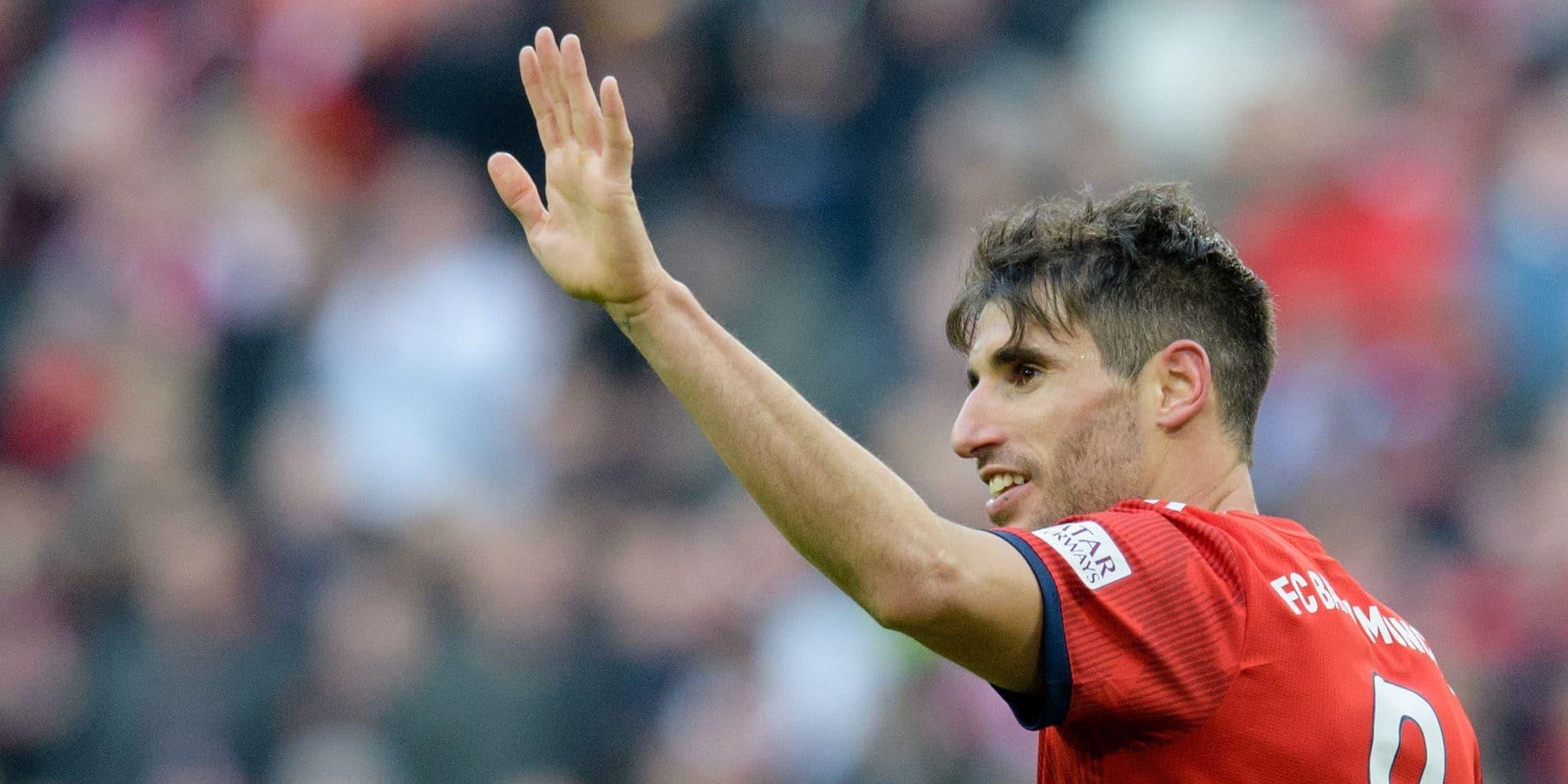 Javi Martinez va quitter le Bayern après neuf saisons