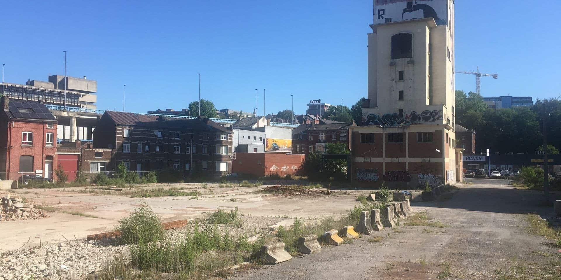 Quel avenir pour la tour Interbeton à Charleroi ?