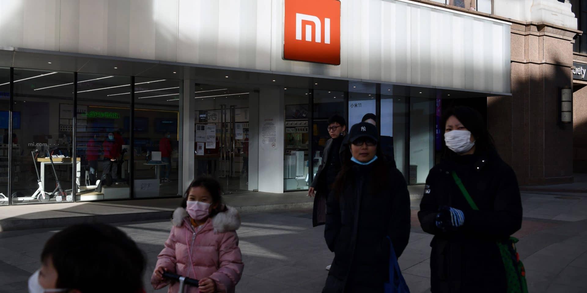 Le géant chinois Xiaomi veut faire annuler son placement sur liste noire aux Etats-Unis