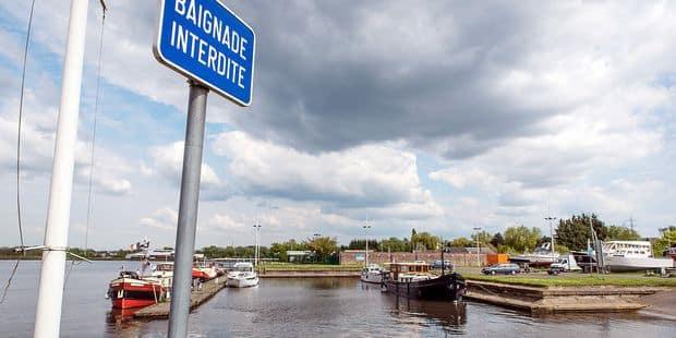 La baignade toujours interdite au Grand-Large à Mons - La DH