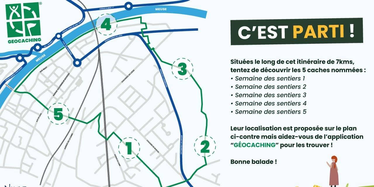Partez à la chasse au trésor à travers les sentiers balisés de Namur