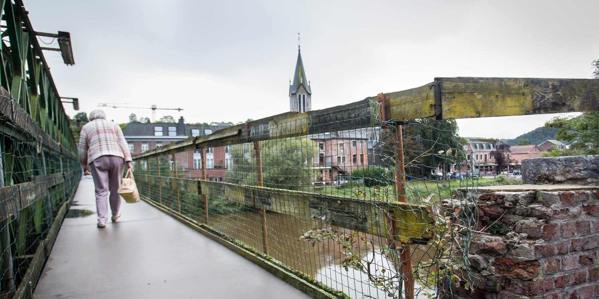 Tilff : le pont fermé 7 semaines !
