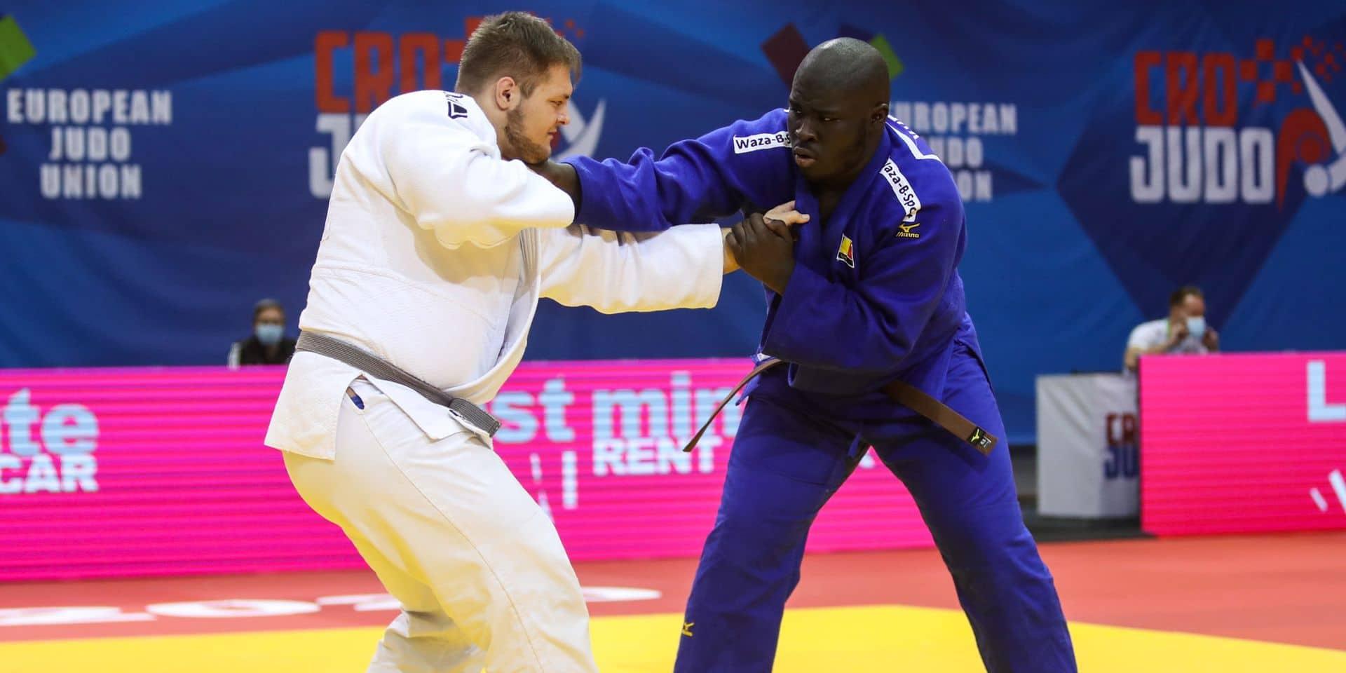 """Yves Ndao est rentré déçu de l'Euro (-20 ans) de judo : """"Ce que j'ai montré ne m'a pas vraiment plu"""""""