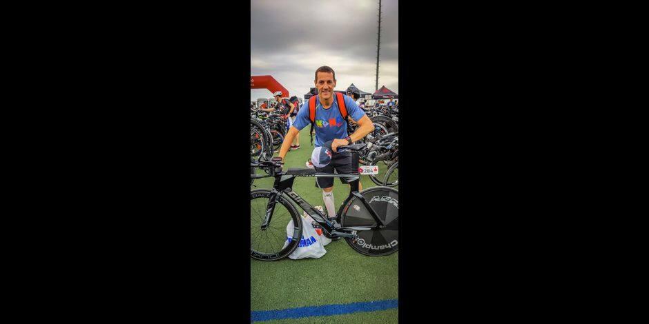 Triathlon: Le Chimacien Rudy Depret qualifié pour Hawaï