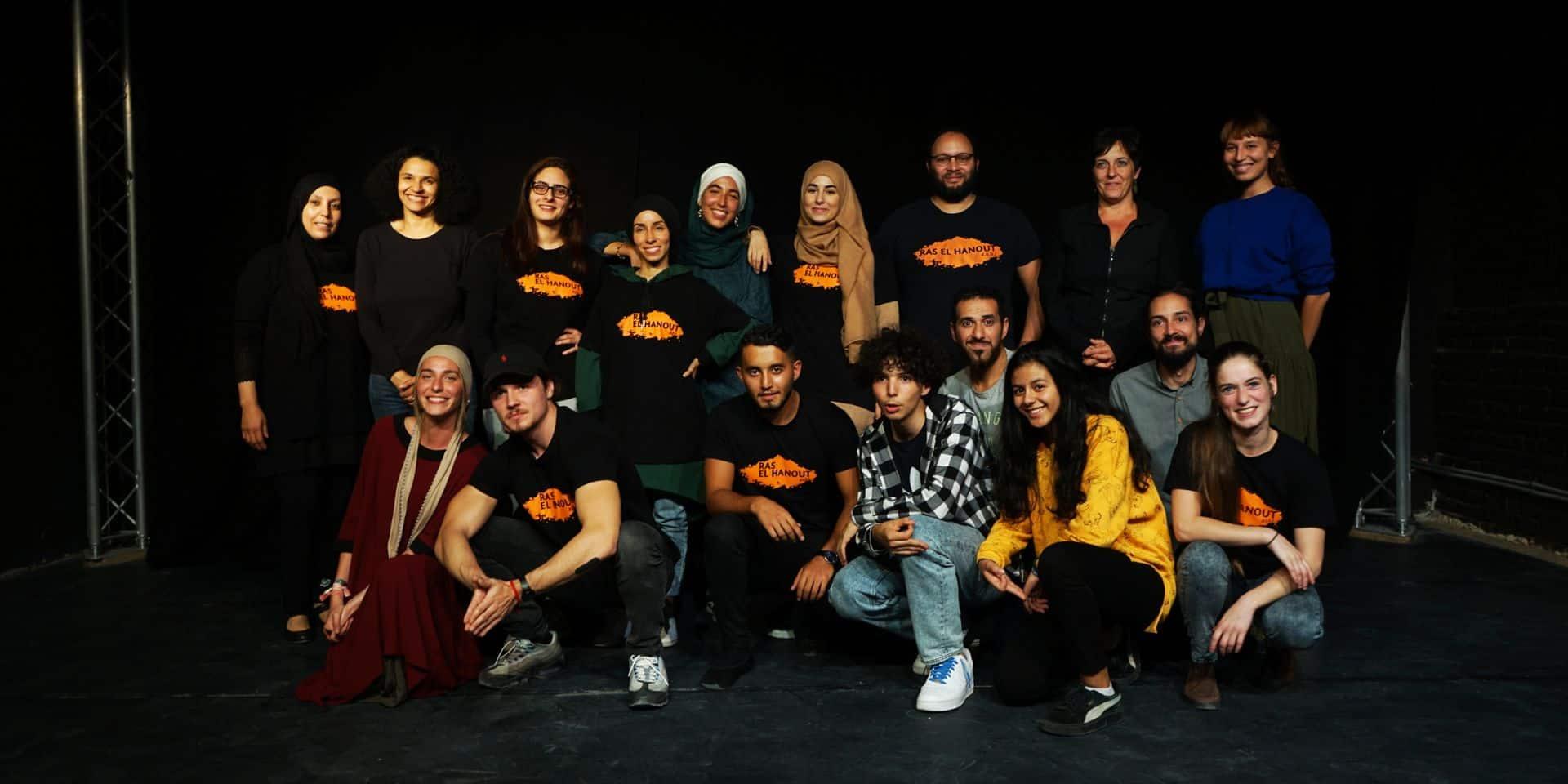 La troupe de théâtre Ras El Hanout s'installe à Tour & Taxis