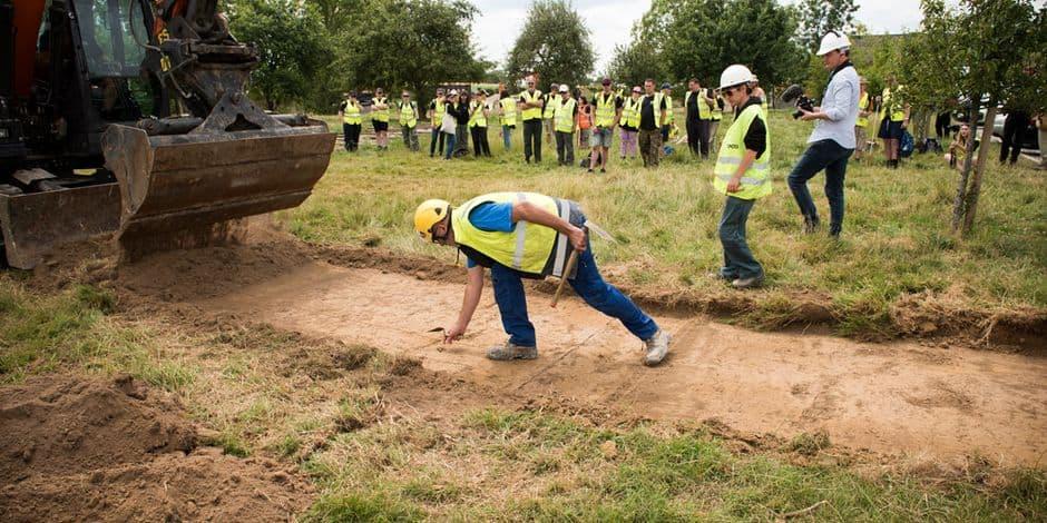 Les fouilles ont repris sur le site de la bataille