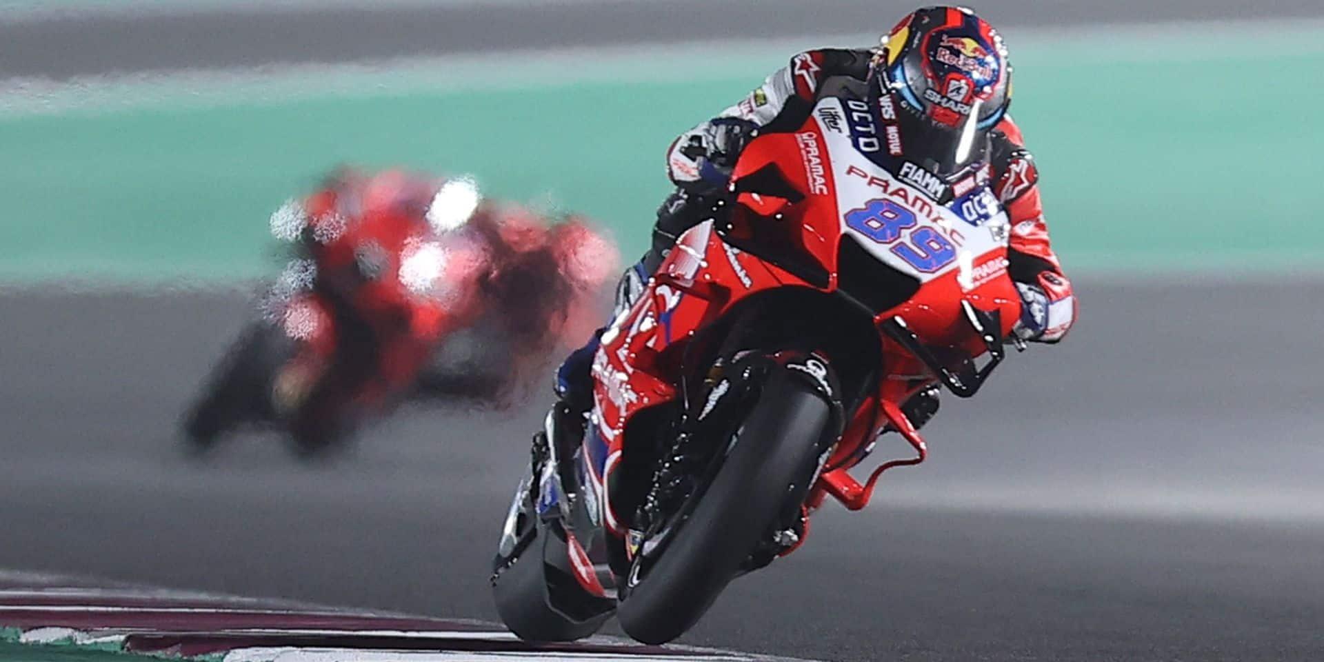 Le GP de Doha en zone rouge Ducati