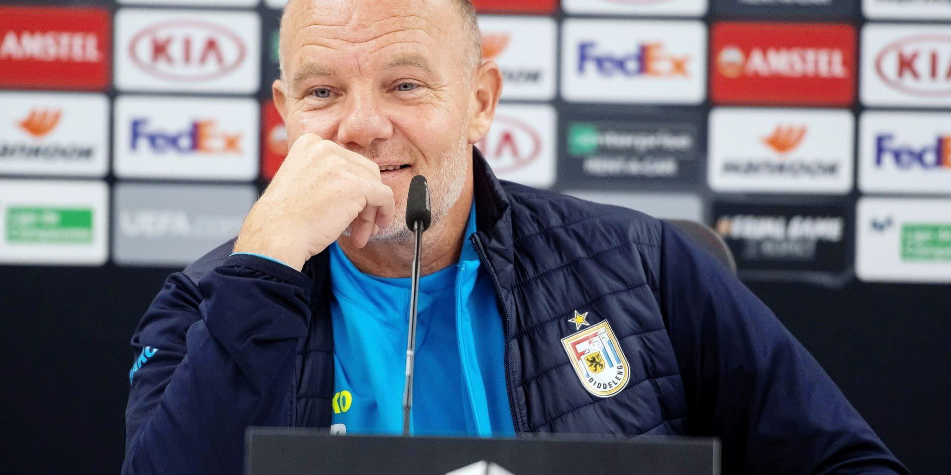 Dudelange's press conference