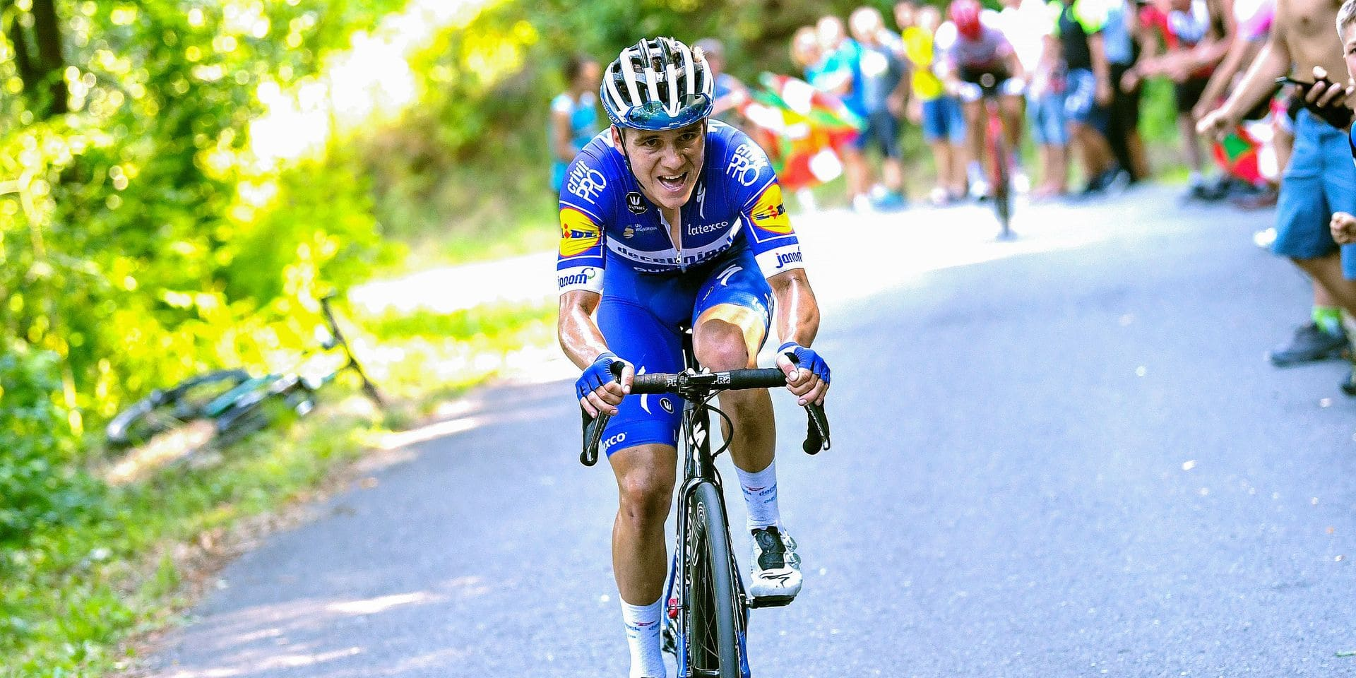 Clasica Ciclista San Sebastian 2019 - 39th Edition - San Sebastian - San Sebastian 227,3 km - 03/08/2019 - Remco Evenepoel (BEL - Deceuninck - Quick Step) - photo Luis Angel Gomez/BettiniPhoto©2019 ! only BELGIUM !