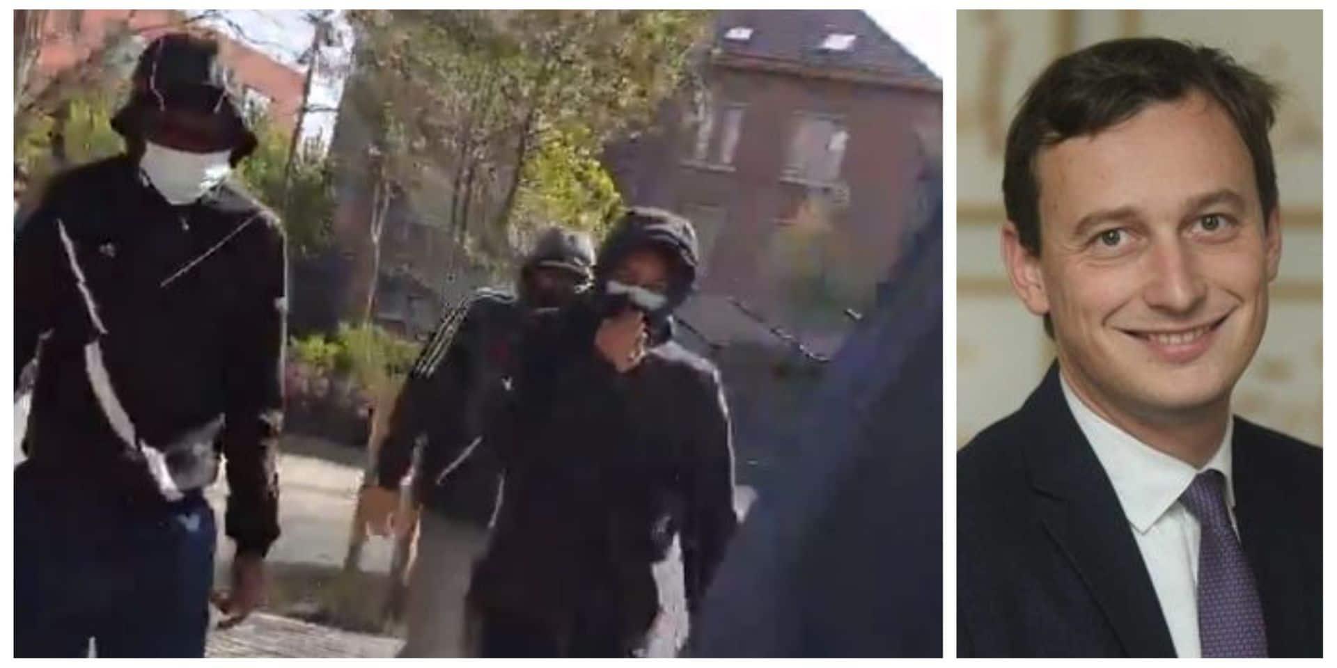 """Mathias Vanden Borre, le député N-VA agressé dans le quartier Esseghem à Bruxelles : """"J'ai filmé pour me défendre, pour avoir un témoignage"""""""
