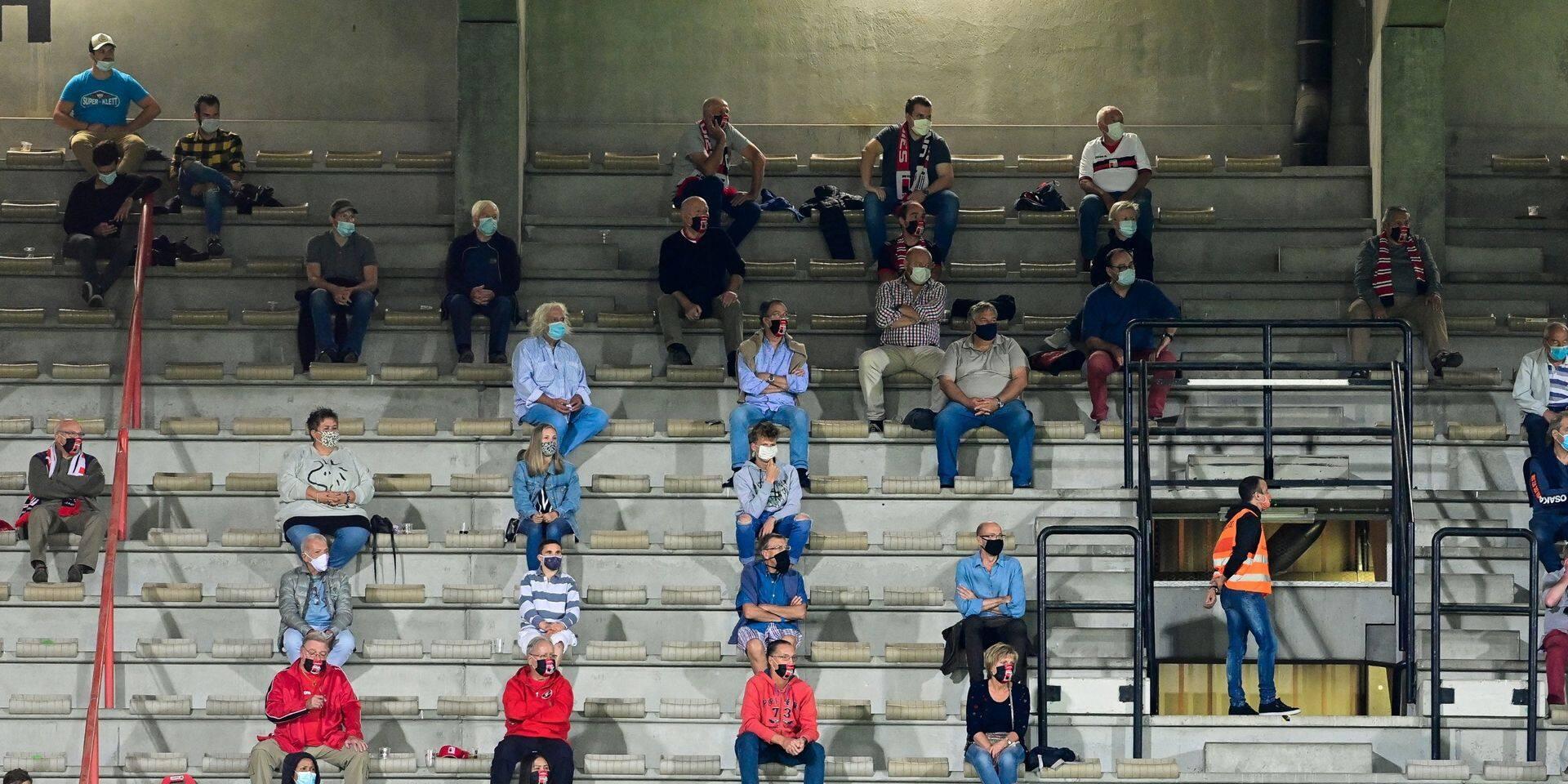 Une partie des supporters molenbeekois ne veut plus se rendre au stade