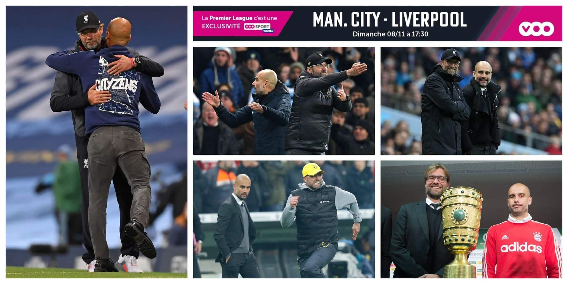 Premier League: Manchester City contre Liverpool, ou Guardiola vs Klopp, clap vingtième