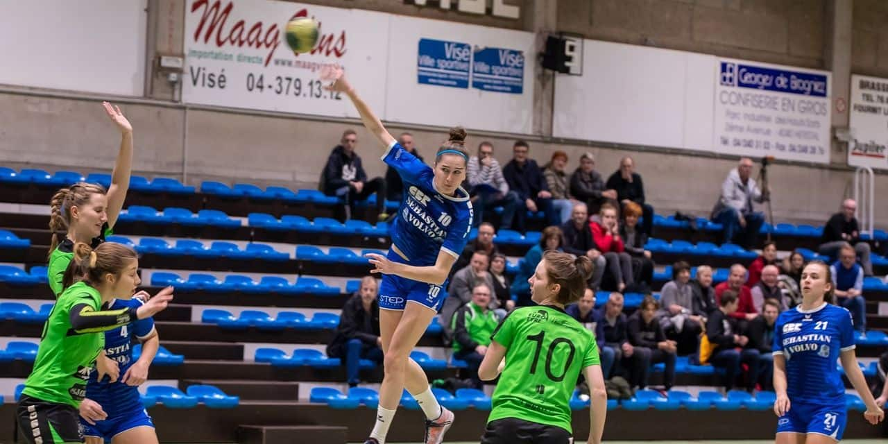 Handball: le Fémina Visé bat Waasmunster avant un match capital à Bocholt