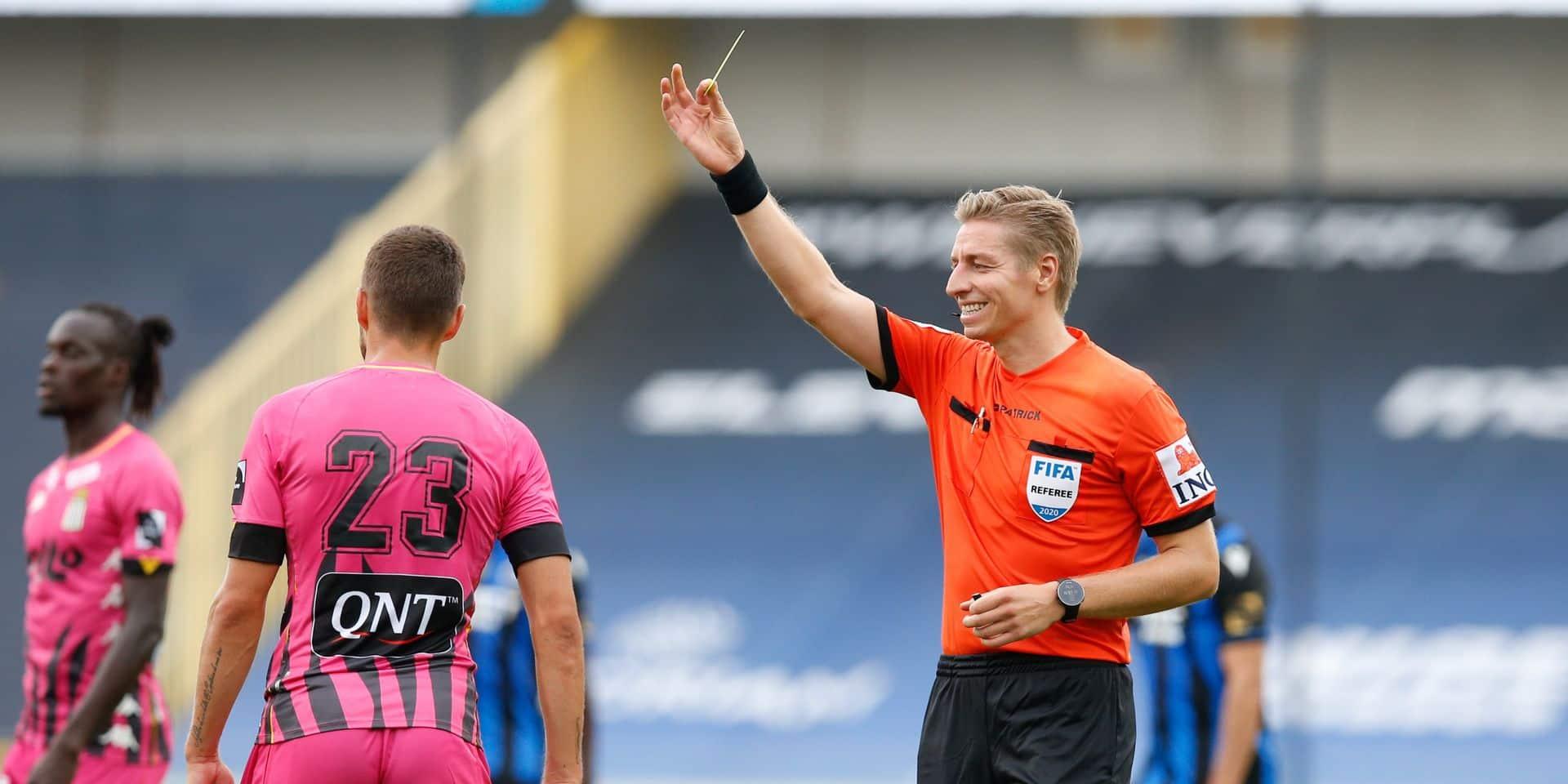 Deux arbitres belges promus par l'UEFA