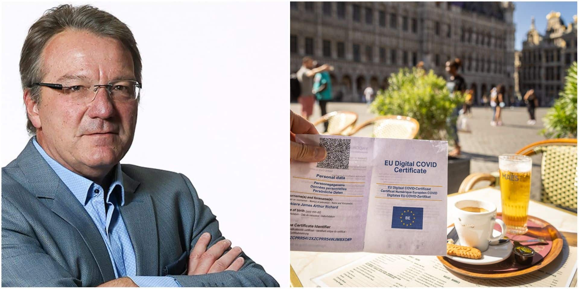 L'Edito : le Covid Safe Ticket, nouvelle lubie pour taper sur l'Horeca