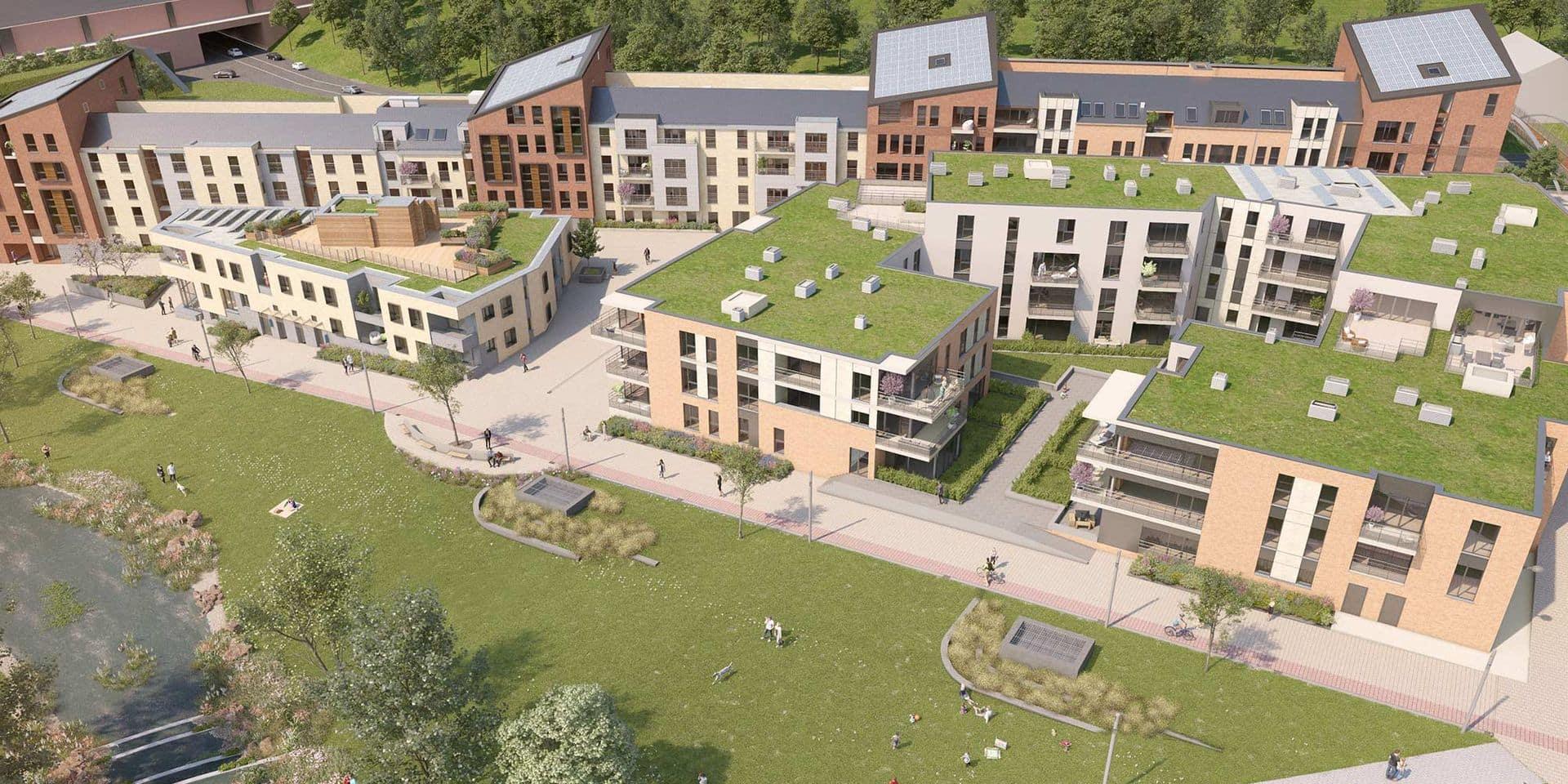 Vers 450 nouveaux logements à Louvain-la-Neuve avec le coup d'envoi du projet Courbevoie