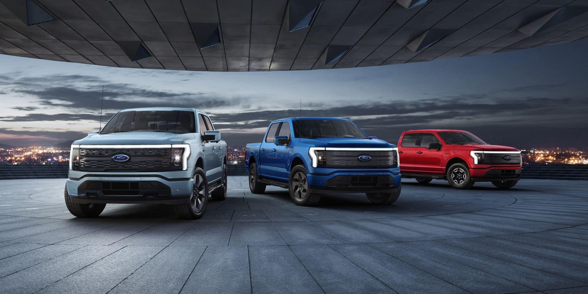 Ford dévoile son pick-up électrique capable d'alimenter une maison !