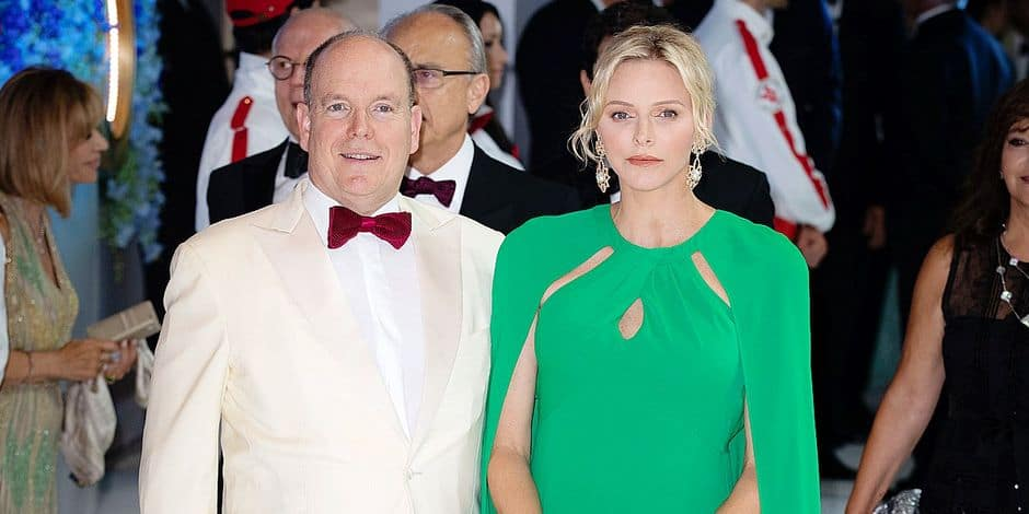 Prince Albert and Princess Charlene attend 71st Monaco Red Cross Gala.