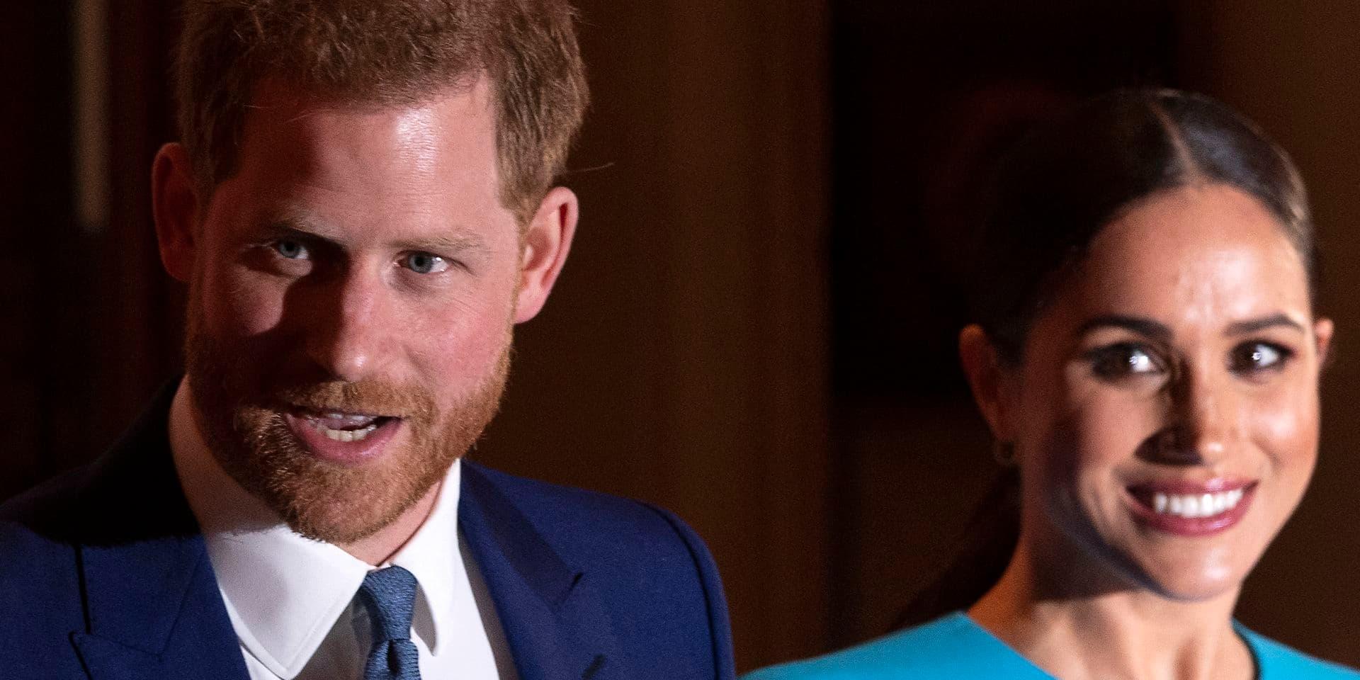 Le prince Harry et Meghan Markle vont accorder une interview à Oprah Winfrey, un premier rendez-vous télévisé depuis leur sortie de la famille royale