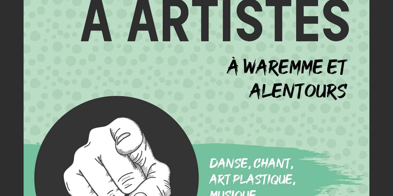Waremme: un appel aux artistes est lancé
