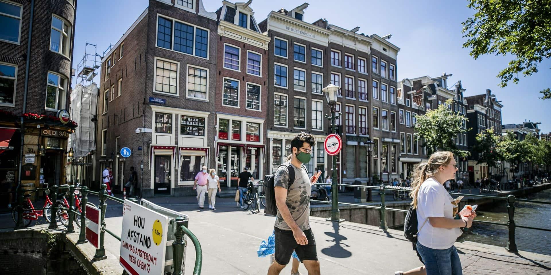 Les Pays-Bas se tournent vers la Belgique pour augmenter leur capacité de tests