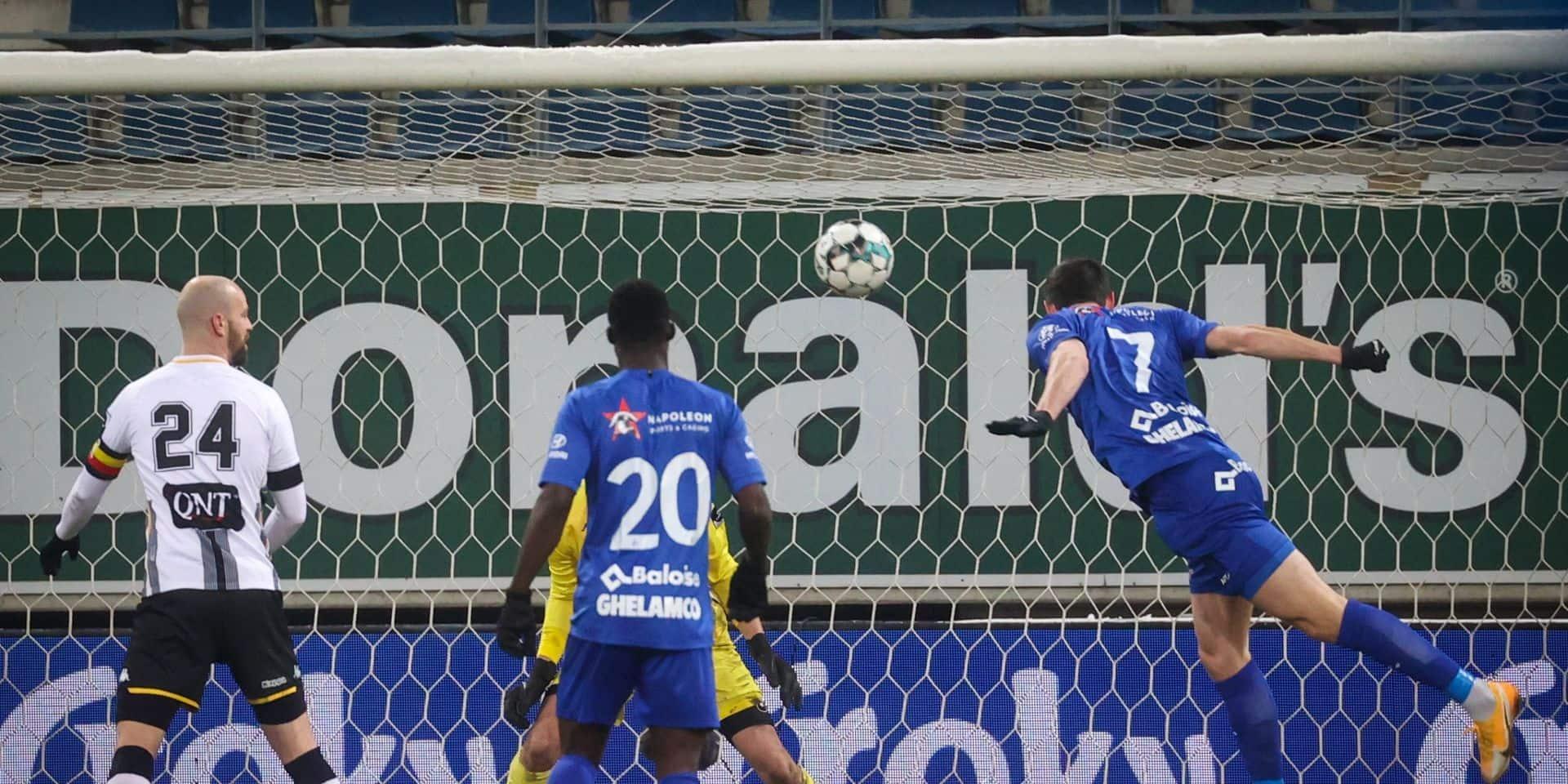 Charleroi se fait renverser par Gand et est éliminé de la Croky Cup (3-1)