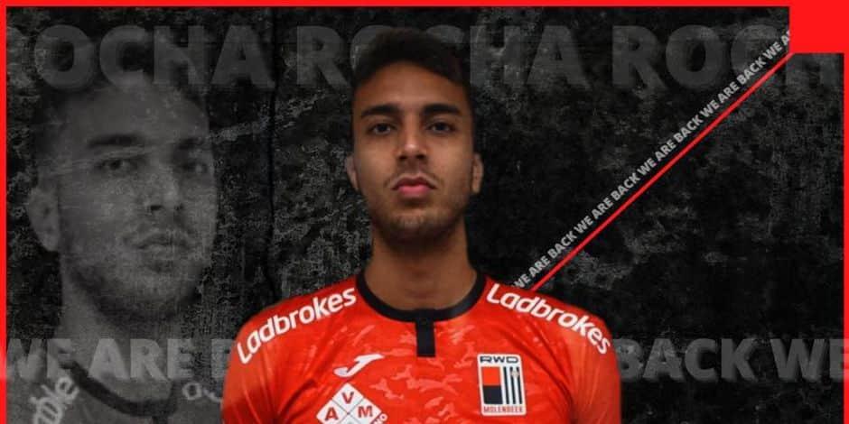 D1B: Leonardo Rocha prêté par Eupen au RWDM