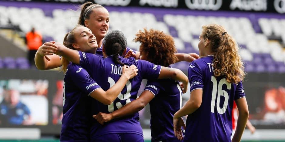 Women's Champions League: Anderlecht connait ses adversaires