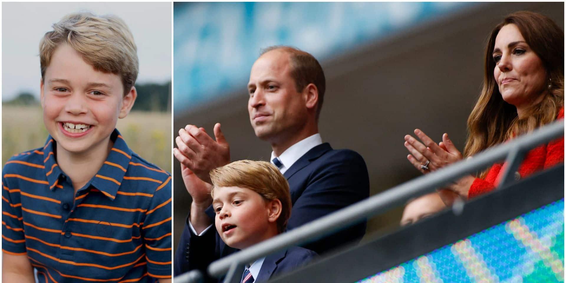 Le prince George fête ses 8 ans: le magnifique portrait signé Kate Middleton rend hommage à Philip