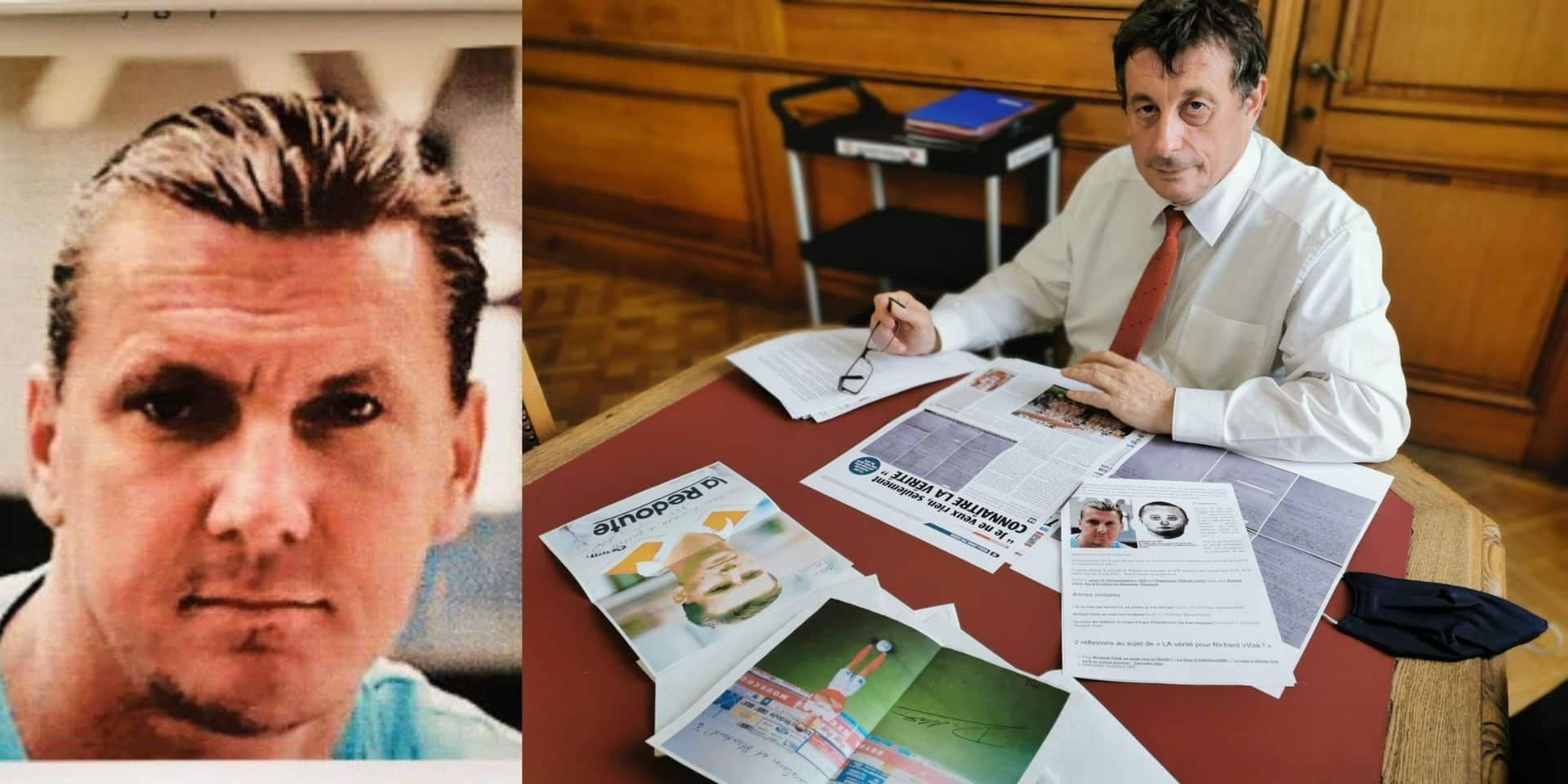 Richard Vlcek, ancien footballeur de Mouscron condamné à 25 ans de prison, clame son innocence : le bourgmestre de Tournai mouille sa chemise pour lui
