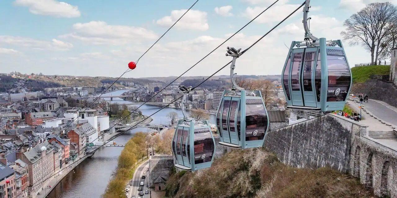 Le téléphérique de Namur sera opérationnel à partir du 8 mai