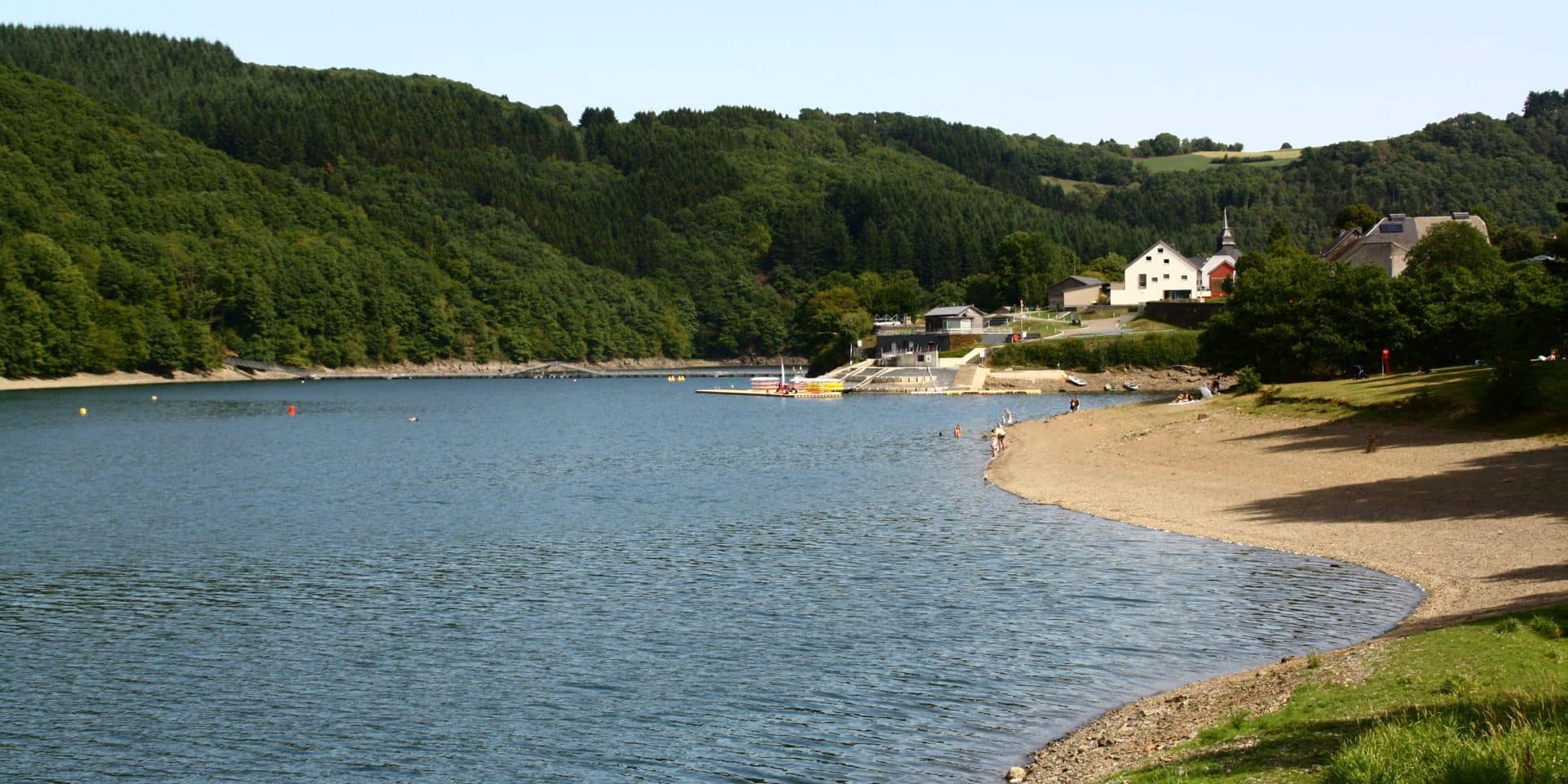 Voici huit endroits idéaux pour se baigner en Ardenne