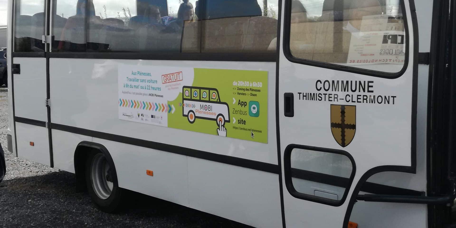 Zoning des Plénesses : des bus de nuit gratuits et connectés