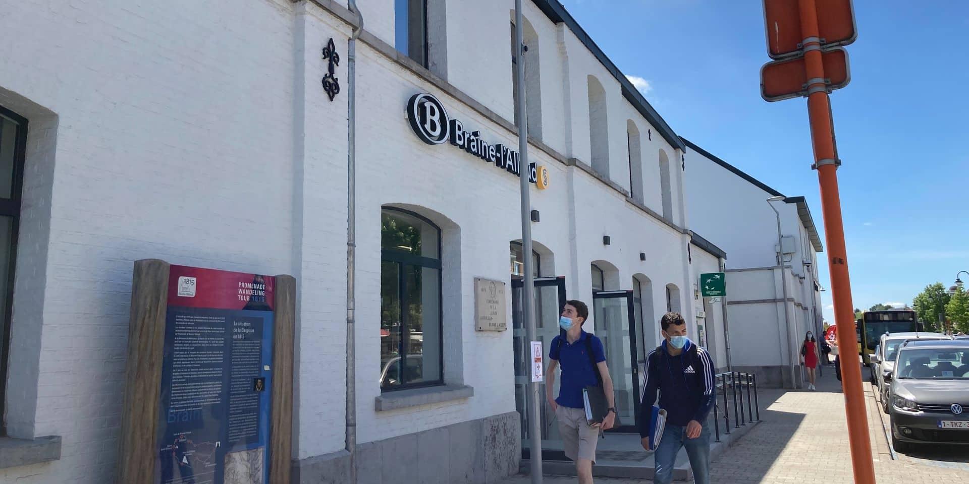 Le bâtiment voyageurs de la gare de Braine-l'Alleud à nouveau accessible