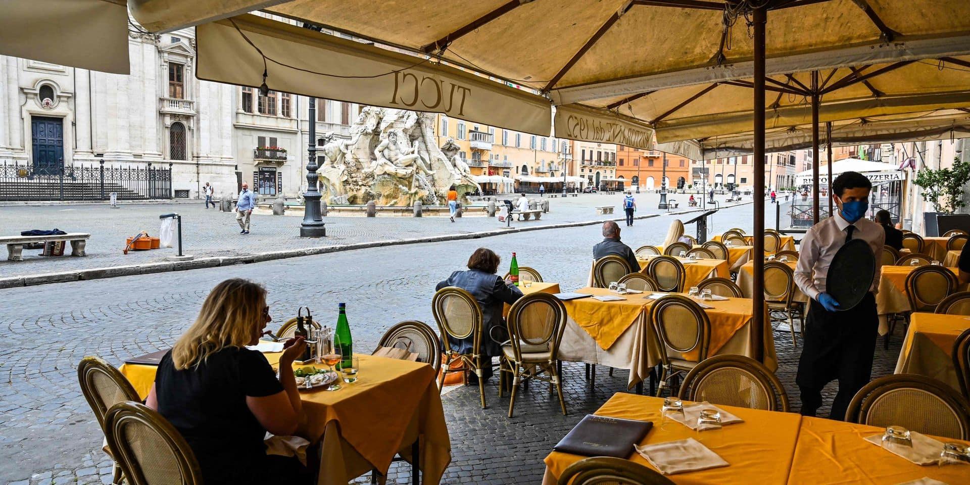Bars, restaurants : comment se passe la réouverture à l'étranger ?