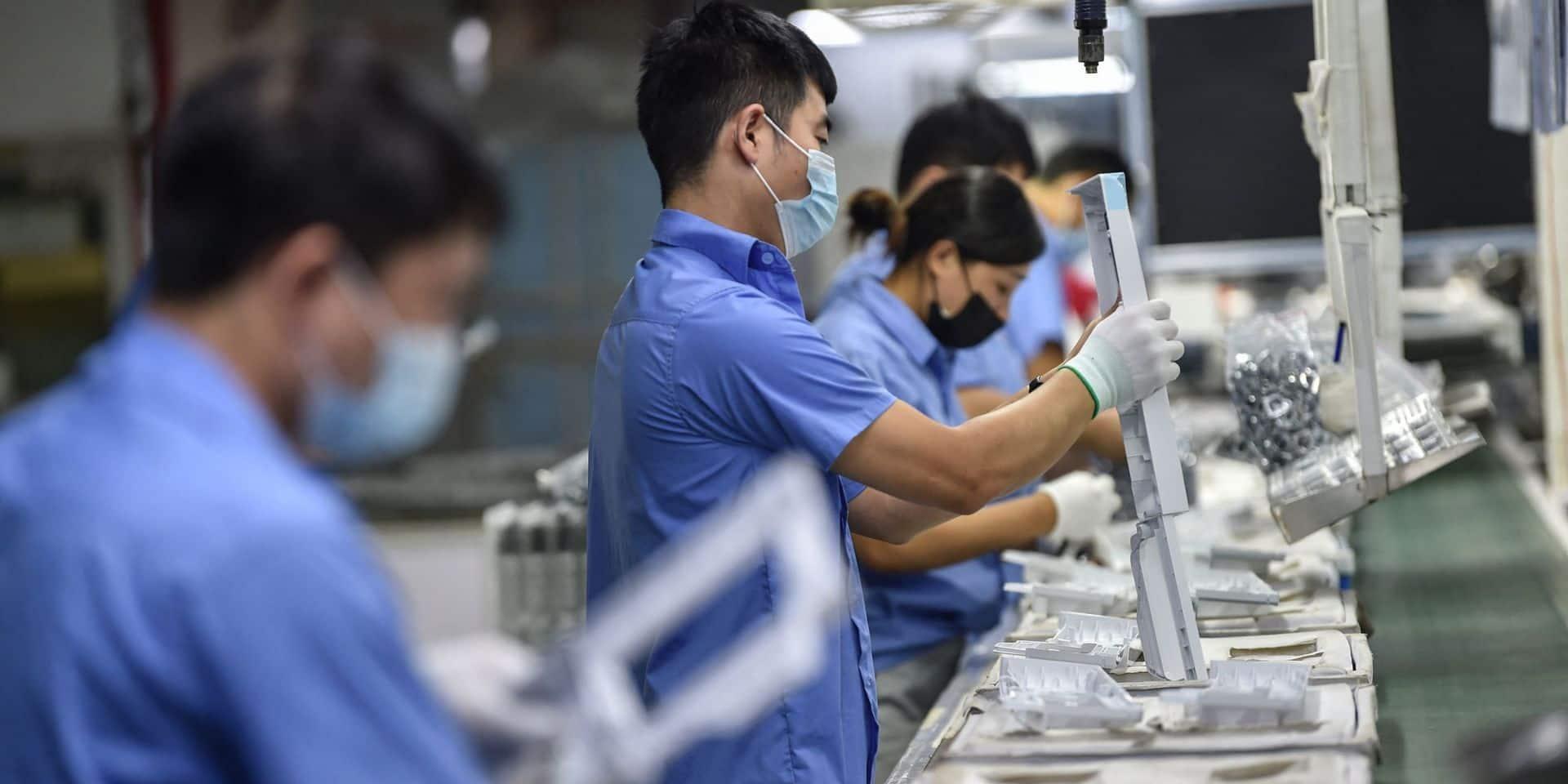 Les coûts de production en Chine flambent à un rythme record depuis 25 ans
