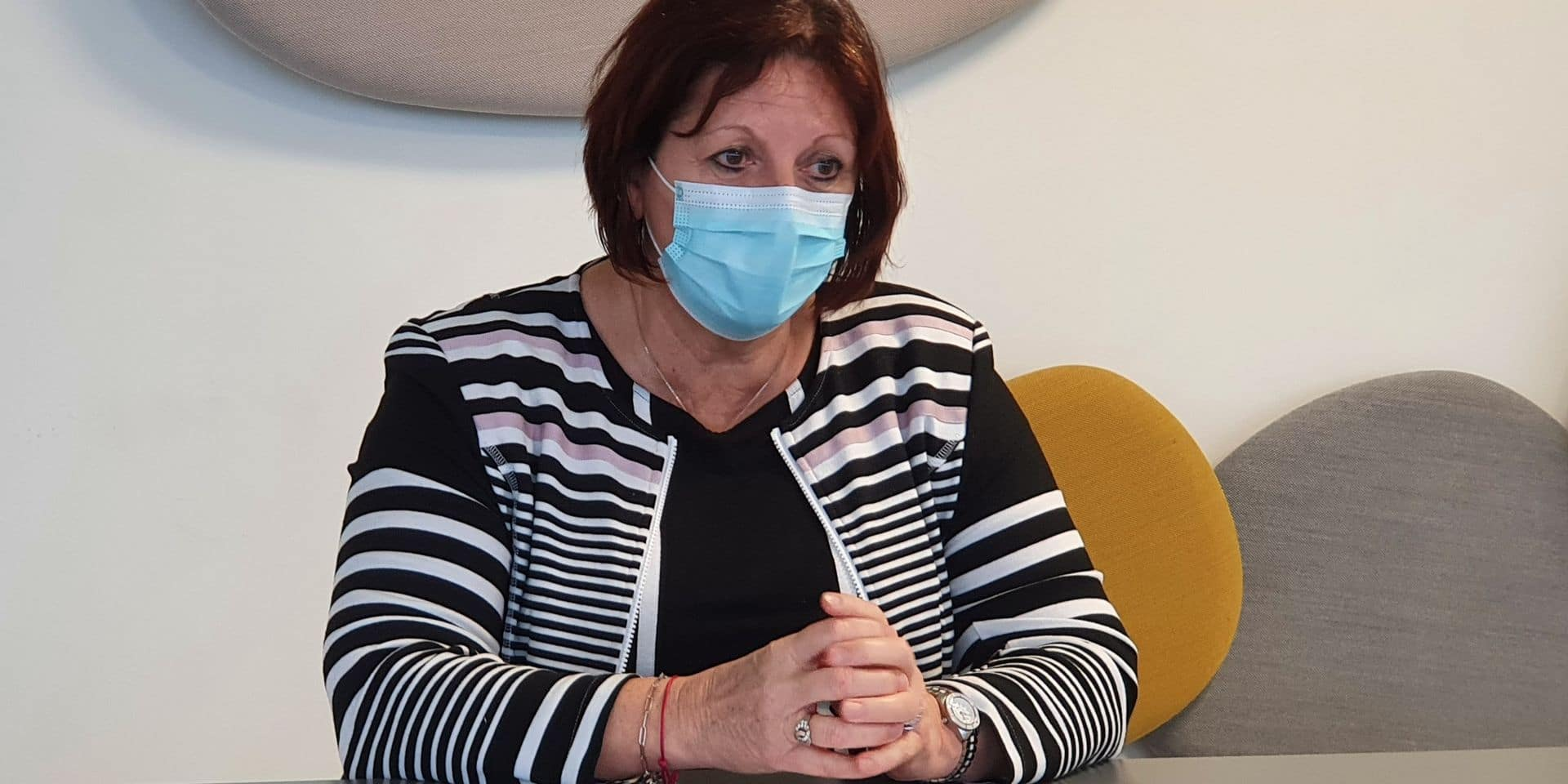 Brigitte Aubert, bourgmestre de Mouscron, rencontre des représentants de l'Horeca ce vendredi