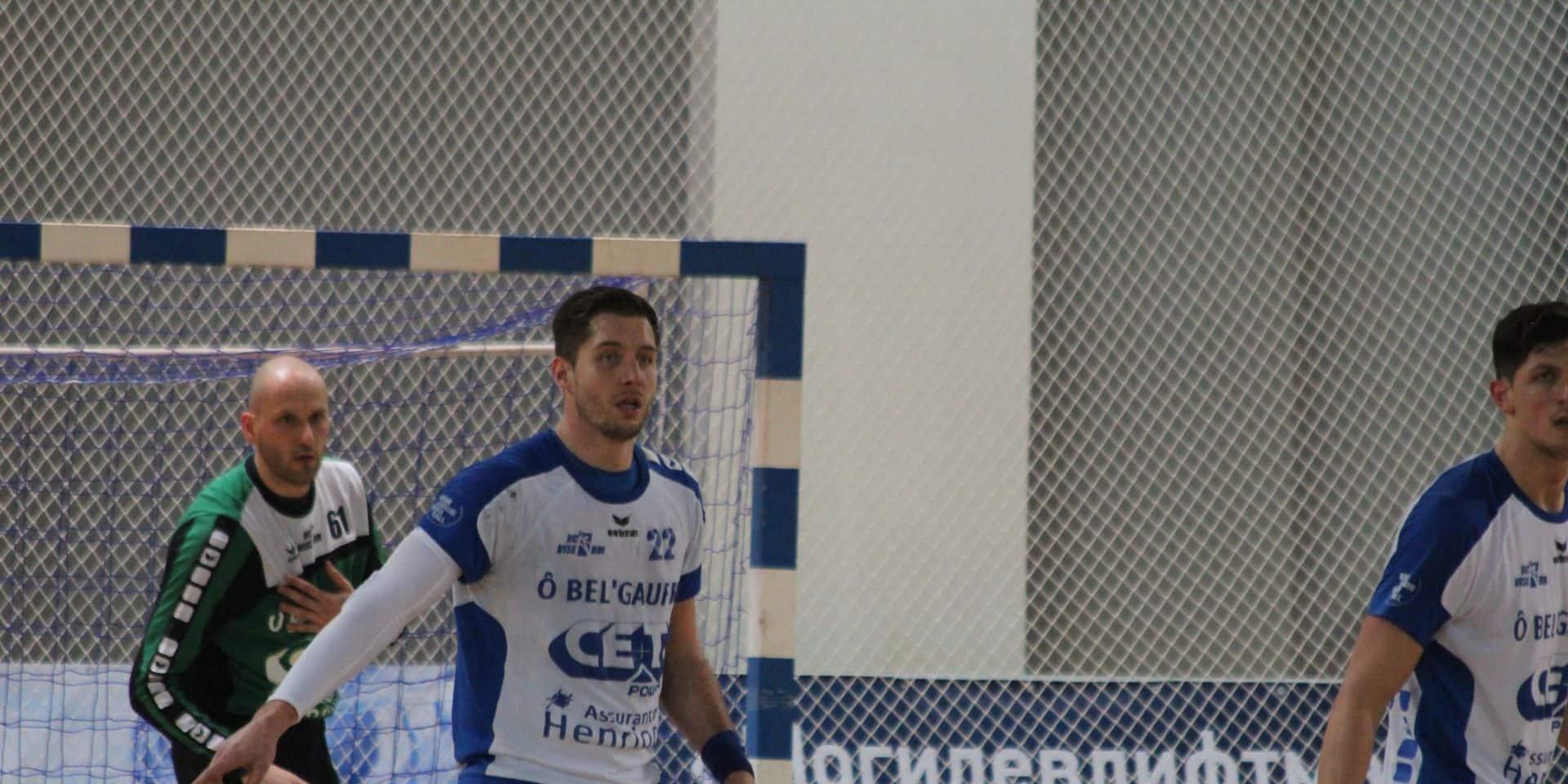 Handball: 3 Visétois dans la présélection pour Belgique-Suisse