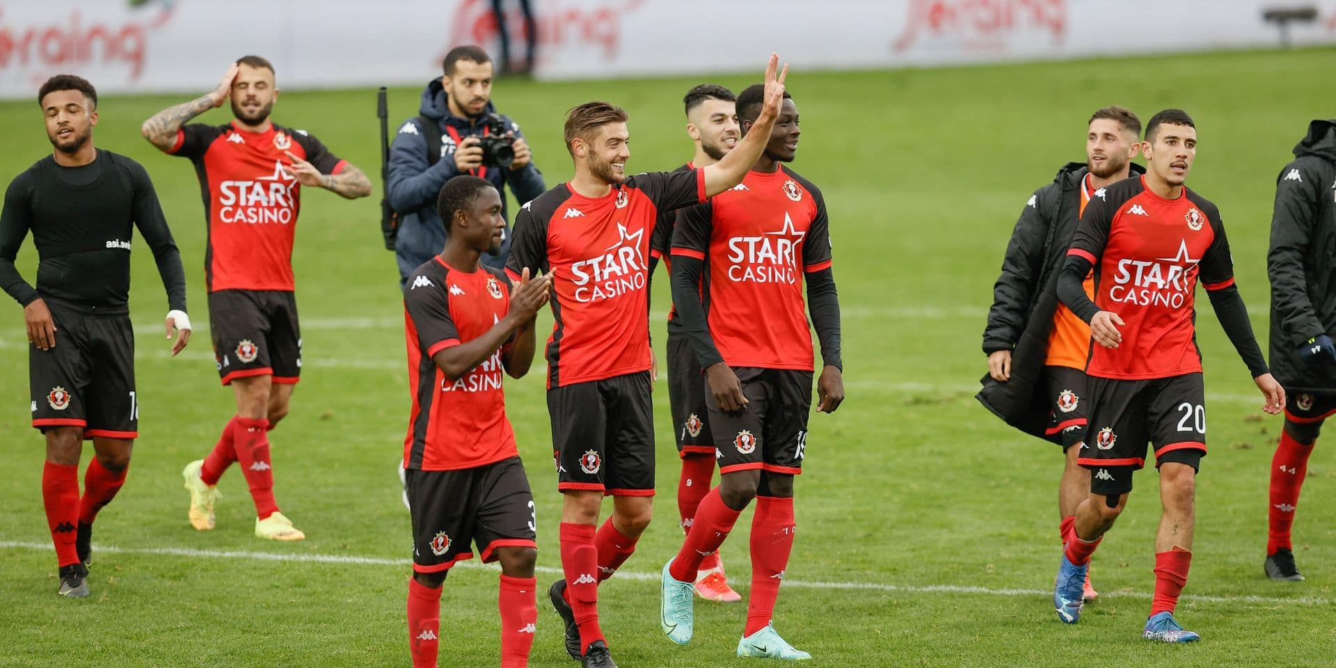 Jupiler Pro League : Seraing cartonne face à Zulte Waregem (5-1)