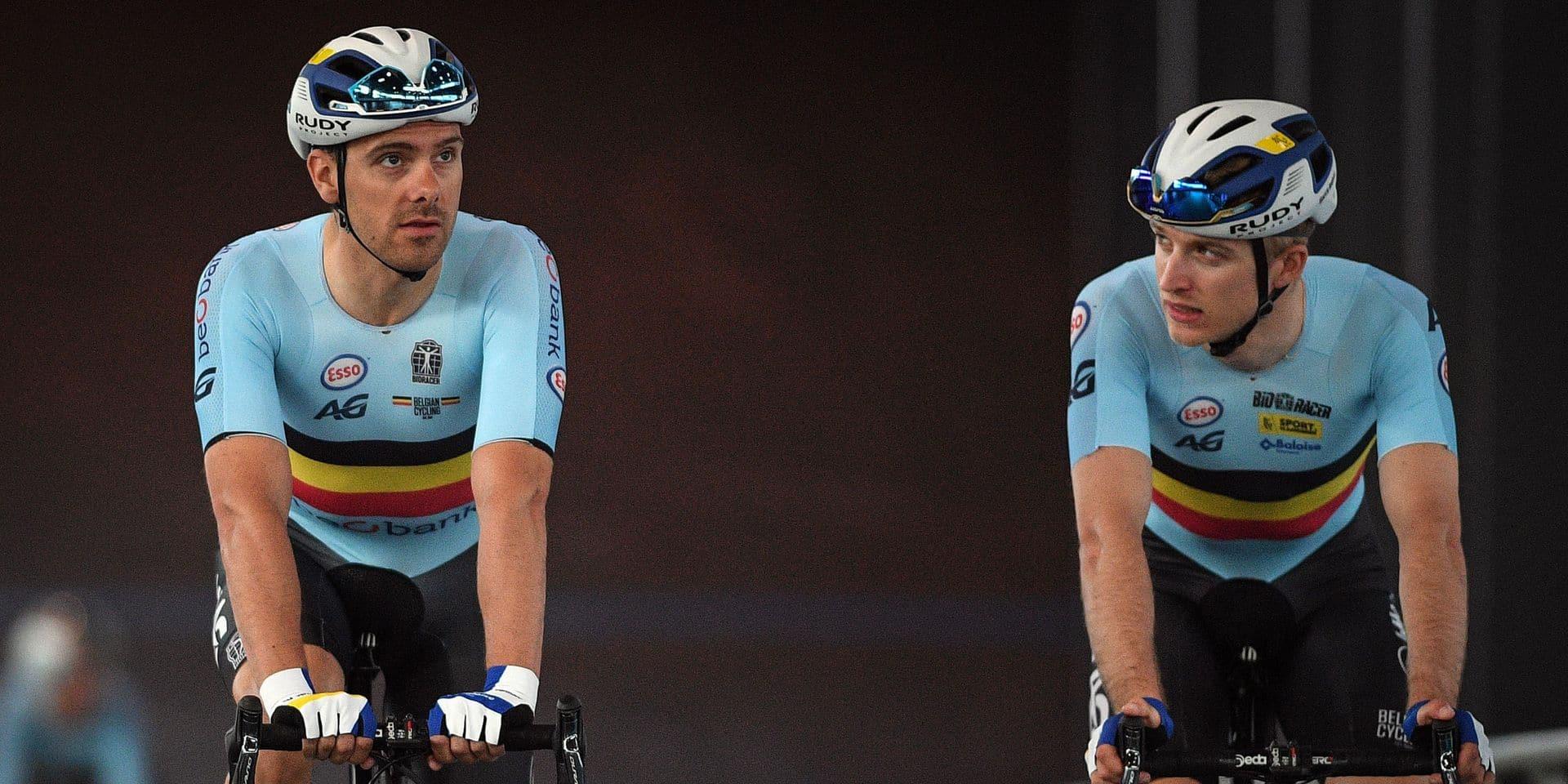 """Deux cyclistes qui représenteront la Belgique au JO sont passés à une alimentation veggie : """"Stop à l'alcool et à la viande"""""""