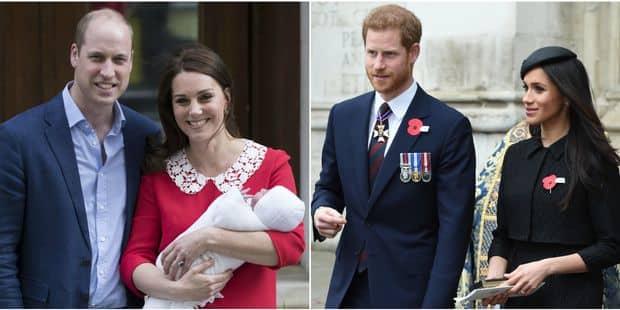 Le Royal Baby, Meghan et Harry boostent l'économie britannique - La DH