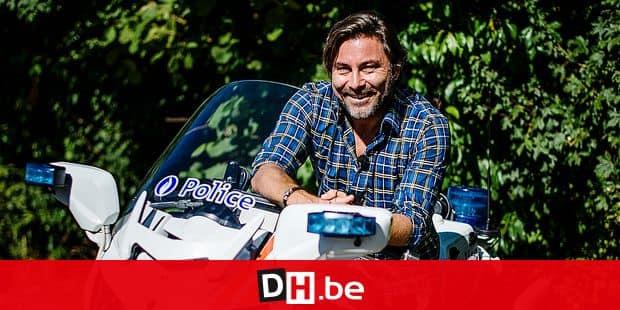 Namur - Rhisnes: Stephane Pauwels lors du tournage de la nouvelle saison de son émission Police