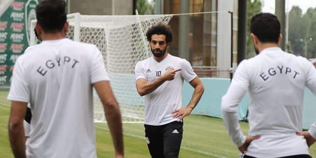 """Egypte: """"Salah est prêt à jouer contre la Russie"""" - La DH"""