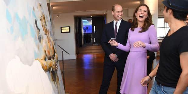 Première sortie en couple pour Kate et William... qui se moque gentiment de sa femme ! - La DH