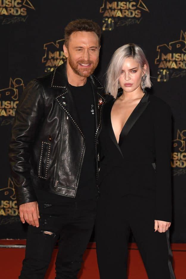 David Guetta et Anne Marie Nicholson