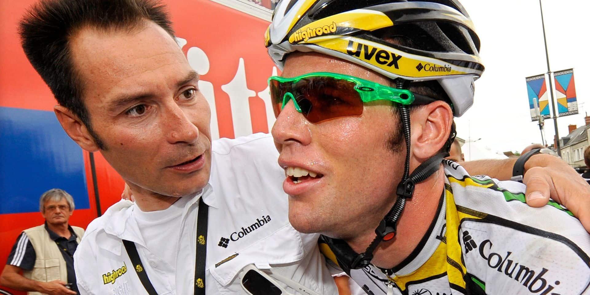 """De légende à légende, Zabel juge Cavendish: """"Il est l'un des meilleurs sprinters de l'histoire"""