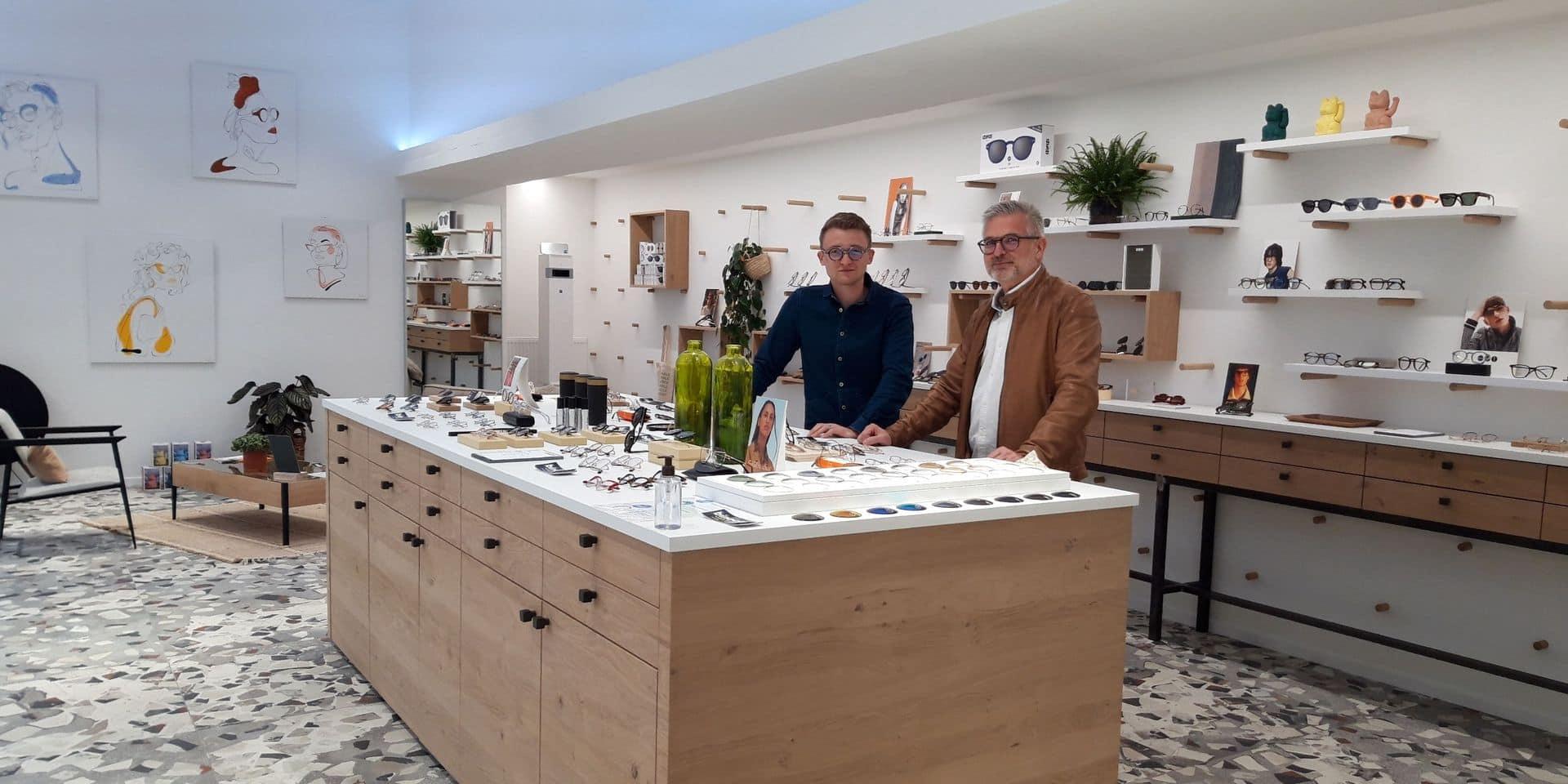 Un concept-store pour acheter ses binocles à Louvain-la-Neuve