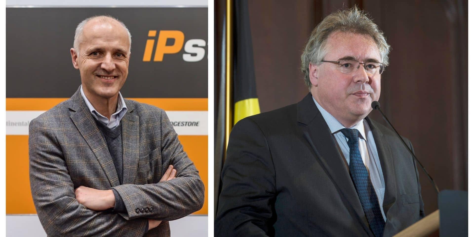 Deux candidats à la présidence de la LBFA