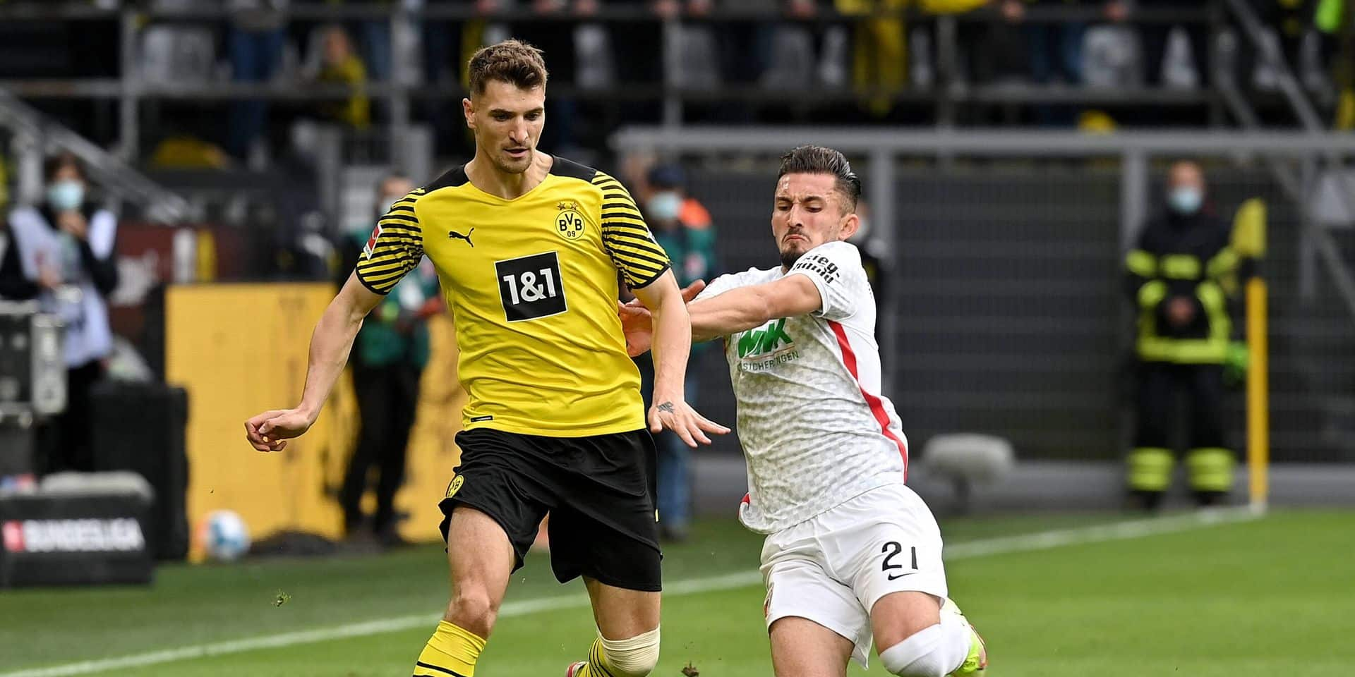 Dortmund, Signal Iduna Park, 02.10.21, GER, Herren, 1.Bundesliga, Saison 2021-2022, Borussia Dortmund - FC Augsburg Bil
