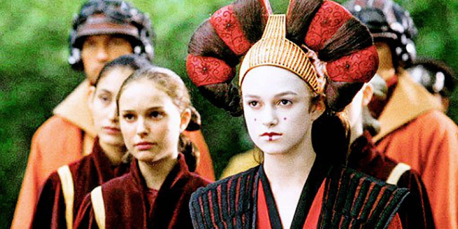"""Keira Knightley, doublure de Padmé dans Star Wars, n'a plus de souvenir de son passage dans la saga:""""Attendez une minute. Je jouais qui ?"""""""